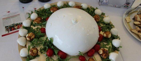 Mozzarella di bufala: la famosa Zizzona di Battipaglia